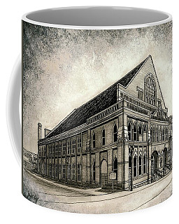 Coffee Mug featuring the painting The Ryman by Janet King