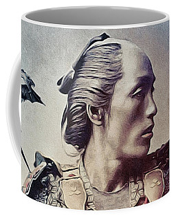 The Samurai And The Dragons Coffee Mug