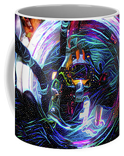 The Sat Diver Coffee Mug