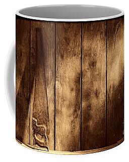 The Saw Coffee Mug by American West Legend By Olivier Le Queinec