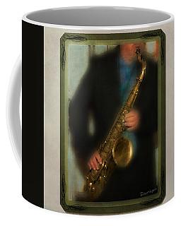 The Sax Player Coffee Mug