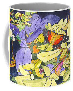 The Scarlet Peacock Coffee Mug
