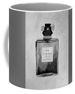 The Scent Black And White Coffee Mug