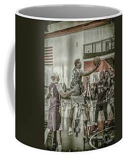 Coffee Mug featuring the photograph The Scoop Shot by Ronald Santini