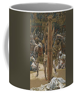 The Scourging On The Back Coffee Mug