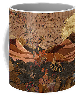 The Scream Of A Butterfly Coffee Mug by Stanza Widen