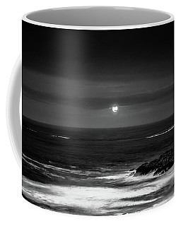 The Sea By Night Coffee Mug by Martina Fagan