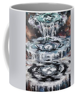 Coffee Mug featuring the painting The Seals by Cheryl Pettigrew