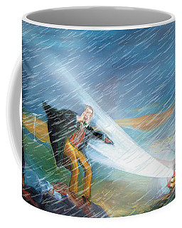 Coffee Mug featuring the photograph The Search by Donna Hall