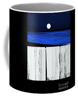 The Seawalls No.4 Full Moon Rising Coffee Mug