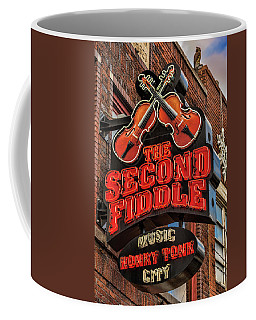 Coffee Mug featuring the photograph The Second Fiddle Nashville by Stephen Stookey