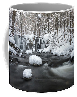The Secret Waterfall In Winter 2 Coffee Mug