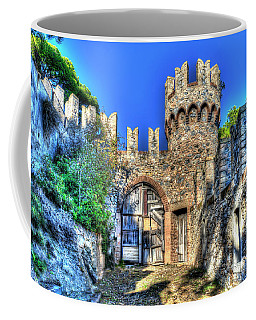 Coffee Mug featuring the photograph The Senator Castle - Il Castello Del Senatore by Enrico Pelos
