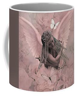 The Sensually Shy Angel Coffee Mug