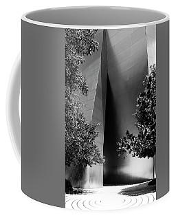 Coffee Mug featuring the photograph The Sensuous Secret Portal At Disney Hall by Lorraine Devon Wilke