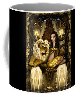 The Serpent Gateway Fantasy Art Coffee Mug
