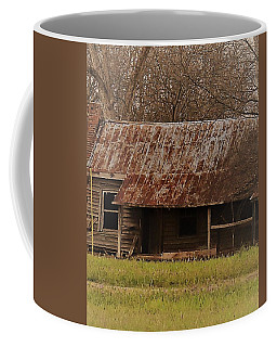 Coffee Mug featuring the photograph The Shack by Aaron Martens