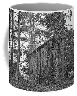 The Shack In Black And White Coffee Mug