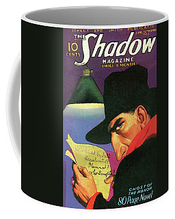The Shadow Ghost Of The Manor Coffee Mug