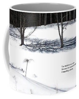 The Shadows We Cast Haiku Coffee Mug