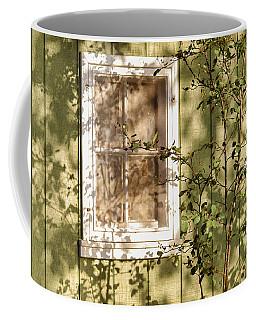 The Shed Window Coffee Mug