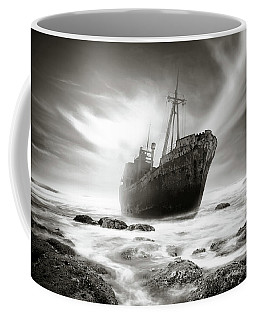 The Shipwreck Coffee Mug by Marius Sipa