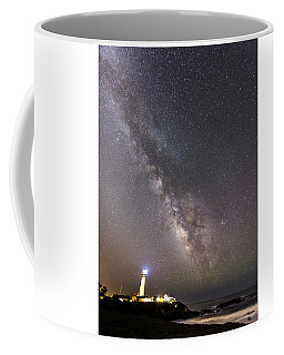 Coffee Mug featuring the photograph The Shore Of Night by Alex Lapidus