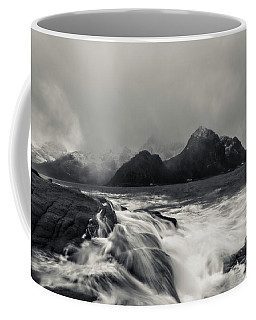 Coffee Mug featuring the photograph The Shore Of Winter by Alex Lapidus