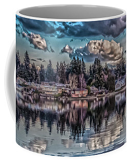 The Shore Coffee Mug by Timothy Latta