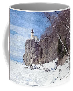 The Shoreline Lighthouse Coffee Mug