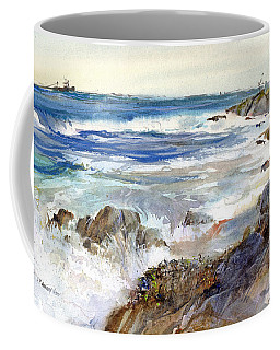 The Shores Of Falmouth Coffee Mug