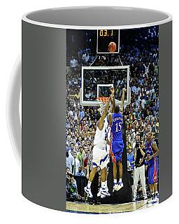 The Shot, 3.1 Seconds, Mario Chalmers Magic, Kansas Basketball 2008 Ncaa Championship Coffee Mug