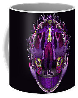 Coffee Mug featuring the drawing The Show Stopper by Raphael Lopez