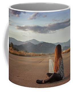 The Silence Of Solitude Coffee Mug