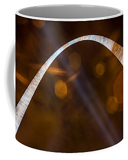 The Silver Gateway Arch Coffee Mug