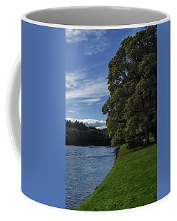 The Silvery Tay By Dunkeld Coffee Mug