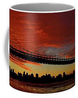 The Sky Is Burning Coffee Mug
