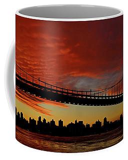 The Sky Is Burning Coffee Mug