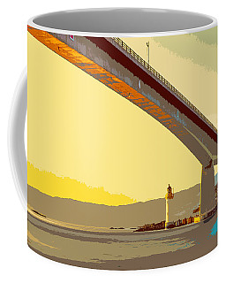 The Skye Bridge And Kyleakin Lighthouse  Coffee Mug