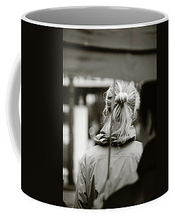 Coffee Mug featuring the photograph The Smell Of Your Hair by Empty Wall