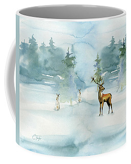 The Soft Arrival Of Winter Coffee Mug by Colleen Taylor