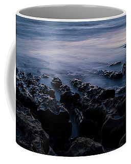 Coffee Mug featuring the photograph The Soft Edge Of Sunset by Alex Lapidus