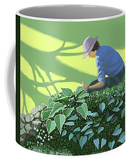 The Solace Of The Shade Garden Coffee Mug