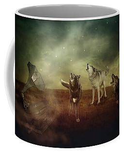 Coffee Mug featuring the digital art The Sound Of Magic by Nicole Wilde