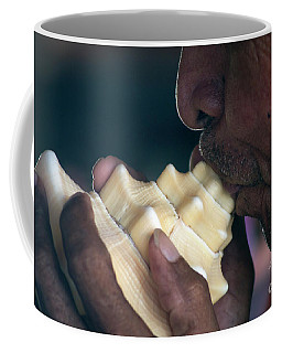Coffee Mug featuring the photograph The Sound Of The Sea by Ana Mireles