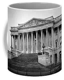 The South End In Black And White Coffee Mug