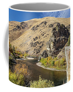 Coffee Mug featuring the photograph The South Fork by Mark Mille