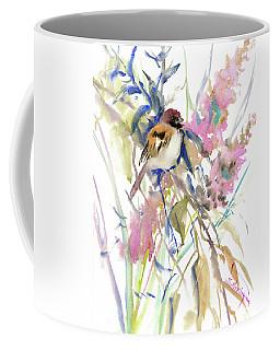 The Sparrow In The Garden Coffee Mug