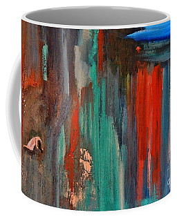 Coffee Mug featuring the painting The Spectre by Lisa Kaiser