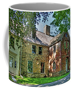 The Spencer-peirce-little House In Spring Coffee Mug